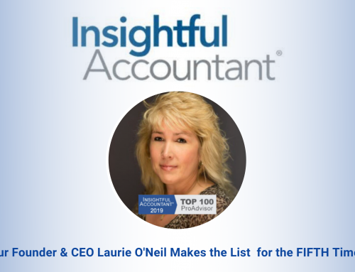 Laurie O'Neil Receives 2019 Top 100 ProAdvisors Award