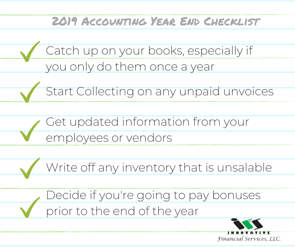 Get Organized with This 32 Item Year-End Close Checklist